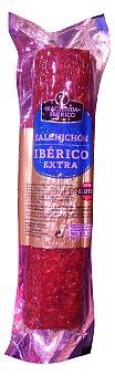 LA HACIENDA DEL IBERICO Salchichón ibérico cular pieza 500 g peso aproximado