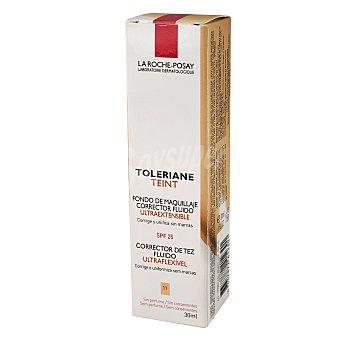 La Roche-Posay Fondo de maquillaje corrector fluido Nº11 Toleriane 30 ml