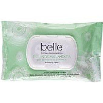 Belle Toallitas piel normal-mixta Paquete 25 unid