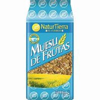 Natur Tierra Muesli de cereales con frutas Paquete 500 g