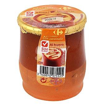 Carrefour Natillas al caramelo - Sin Gluten 140 g
