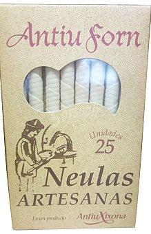 ANTIU FORN Barquillo artesano Paquete 25 unidades