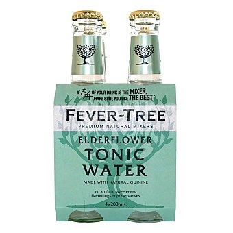 Fever Tree Tónica Elderflower Pack 4x200 ml