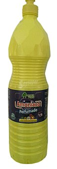 Bosque Verde Amoniaco perfumado (botella amarilla) Botella de 1,5 l