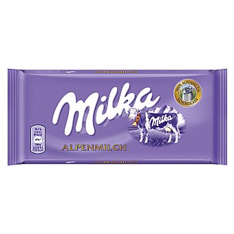 Milka Chocolate con leche Tableta 125 g