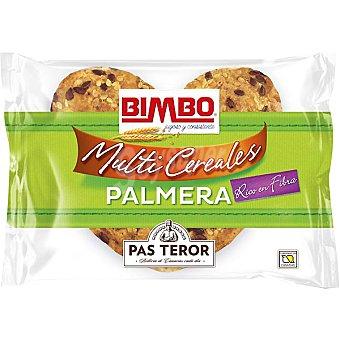 BIMBO palmera multi cereales rico en fibra  paquete 110 g