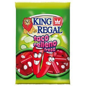 King Regal Taco relleno fresa 100 gramos