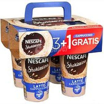 Nescafé Shakissimo Café Shakissimo Cappucino Pack 3+1 unid
