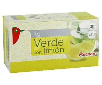 Auchan Té verde con limón 20 uds