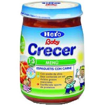 Hero Baby Tarrito de spaguetis con carne Junior Crecer