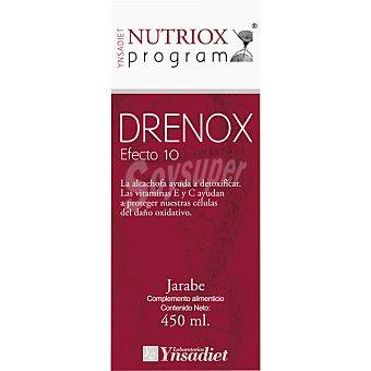 NUTRIOX Jarabe de alchachofa ayuda a detoxificar Drenox Efecto 10 Envase de 450 ml