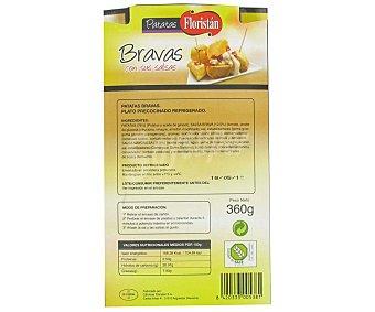 Floristán Patatas bravas Bandeja 360 g