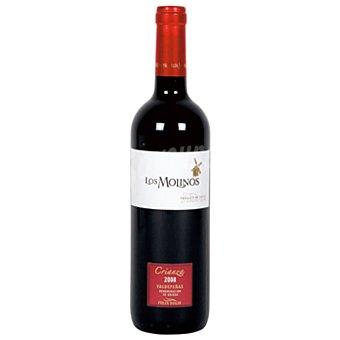 Los Molinos Vino tinto crianza con denominación de origen Valdepeñas Botella de 75 cl