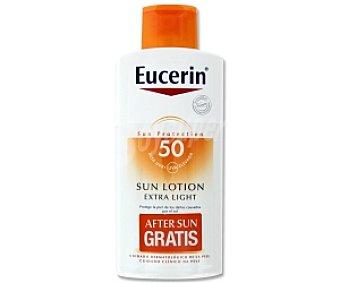 Eucerin After Sun loción FP50. Alivio intenso de la piel sometida al sol 400 Mililitros