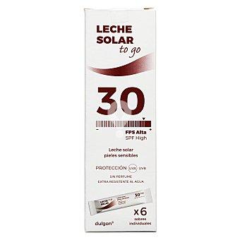 Protector solar leche corporal FP 30 piel sensible