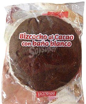 HACENDADO Surtido granel bizcocho al cacao con baño de chocolate blanco 1 unidad (70 g peso aprox.)
