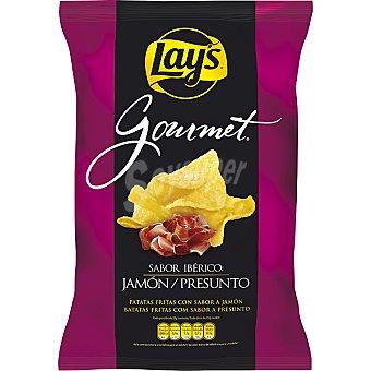Lay's Gourmet Patatas fritas sabor jamón ibérico Bolsa 180 g