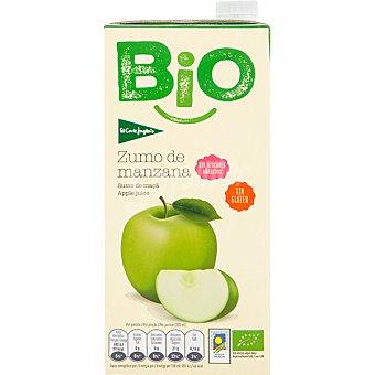 EL CORTE INGLES Bio Zumo de manzana ecológico y sin gluten  brik 1 l