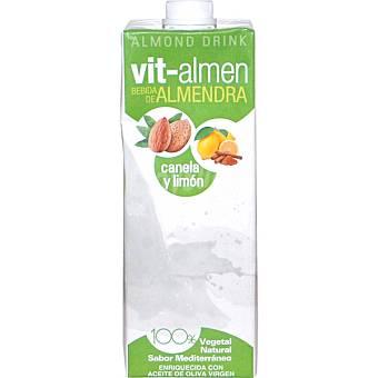 VIT-ALMEN Bebida de almendra con canela y limón Envase 1 l