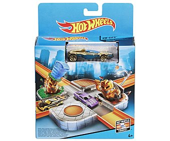 Hot Wheels Pista para coches con piezas de montaje wheels
