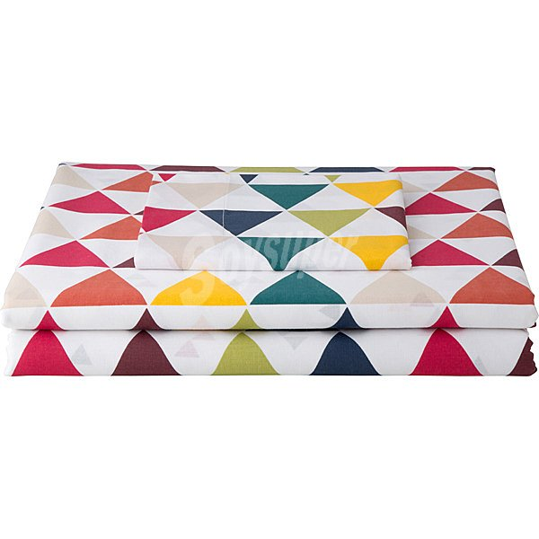 Unit triangulos funda nordica cama 105 cm for Funda nordica cama 105