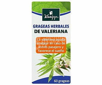 Kneipp Valeriana herbales Caja 60 unid