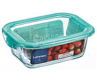 ARC Luminarc recipiente rectangular con tapa keep'n box 122 cl