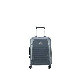 VISA DELSEY Munia Maleta de cabina rígida slim con 4 ruedas dobles, 55cm, cierre con código y TSA. DELSEY.