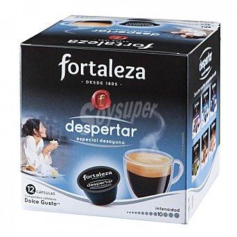 Dolce Gusto Nescafé Café molido natural despertar en cápsulas Fortaleza compatible con 12 unidades de 7 g