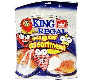 King Regal Surtido Azúcar Bolsa de 100 Gramos