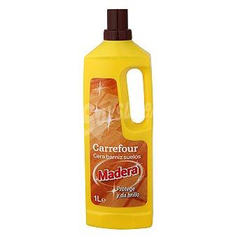 Carrefour Cera para todo tipo de madera 1 l