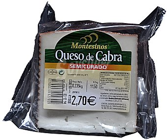 Montesinos Queso semicurado cabra 260 g