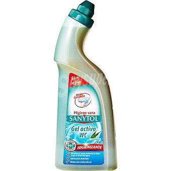 Sanytol Desinfectante WC gel activo sin lejía higienizante Botella 750 ml