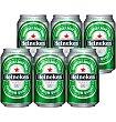 Cerveza un Lata 33 cl pack de 6 Heineken