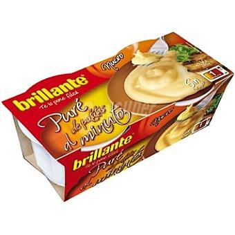 Brillante Puré de patata Al Minuto Pack 2 envases 175 g