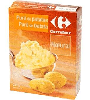 Carrefour Puré Natural de Patata Caja de 230g