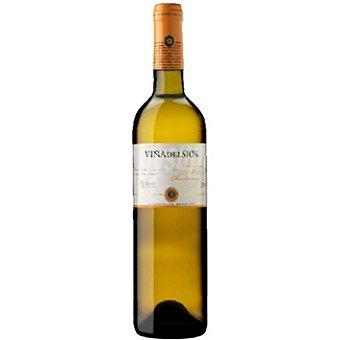 VIÑA DEL SIOS Vino blanco sauvignon blanc chardonnay D.O. Costers del Segre Botella 75 cl