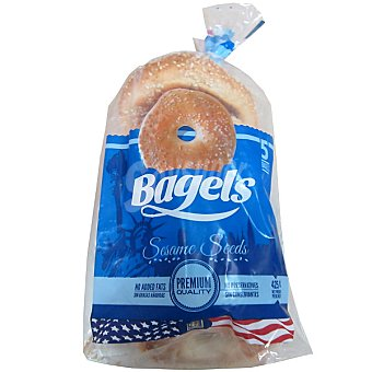 Bagels Bagels sesamo bagel nash 460 g