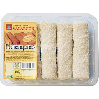 VALARCON Flamenquines de pollo bandeja 315 g 5 unidades