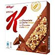 Barritas Special K chocolate con leche Pack 6 x 21.5 g Special K Kellogg's