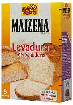 Maizena Levadura de Panadería 5 sobres de 5,5 g