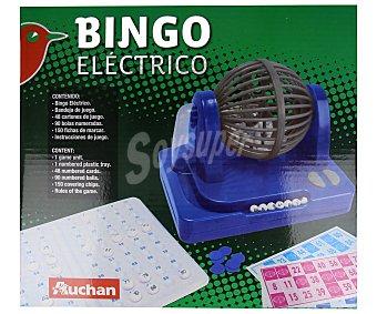 Auchan Bingo electrónico con 48 cartones y 150 marcadores, AUCHAN.