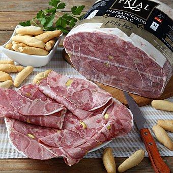 Frial Cabeza de cerdo ibérica con pistachos Bandeja de 500.0 g.
