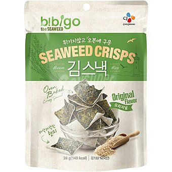 Bibigo Chips algas oriental aperitivo  bolsa 20 g