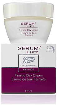 Boots Serum7 Lift Crema Dia Reafirmante 50 Ml New Uvr Spf 15 50 Ml