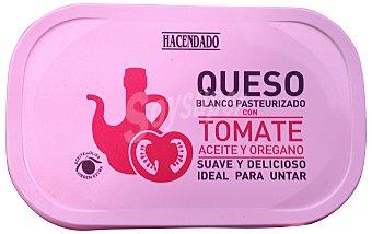 Hacendado Queso de untar blanco de tomate y orégano Tarrina 200gr