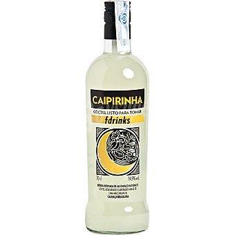 Fdrinks Cóctel caipirinha listo para tomar Botella 70 cl
