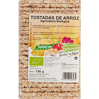 BIOCOP Tostadas de arroz biológicas Envase 130 g