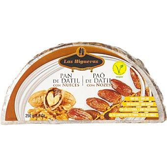 LAS HIGUERAS pan de dátil con nueces Envase 250 g