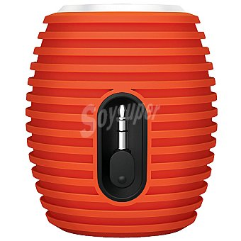PHILIPS SBA3010O Altavoz portátil en color naranja para ipod/iphone y smartphones